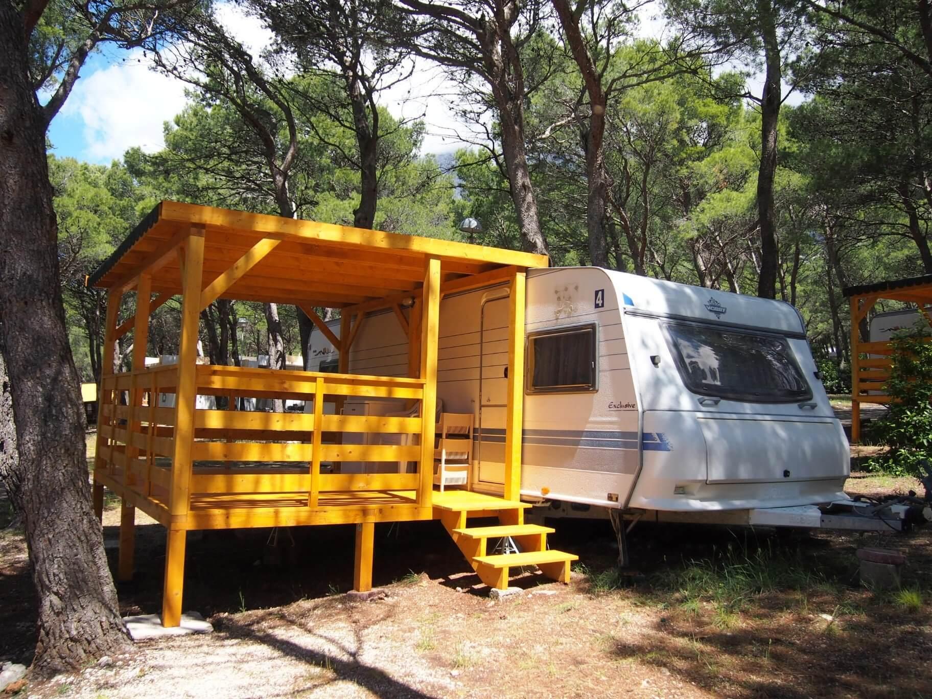 caravan Baška Voda Camp Baško Polje