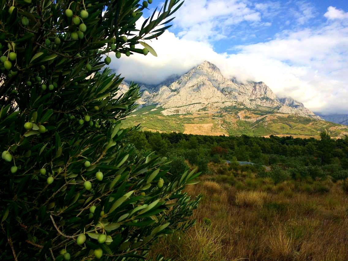 mountains Baška Voda Biokovo