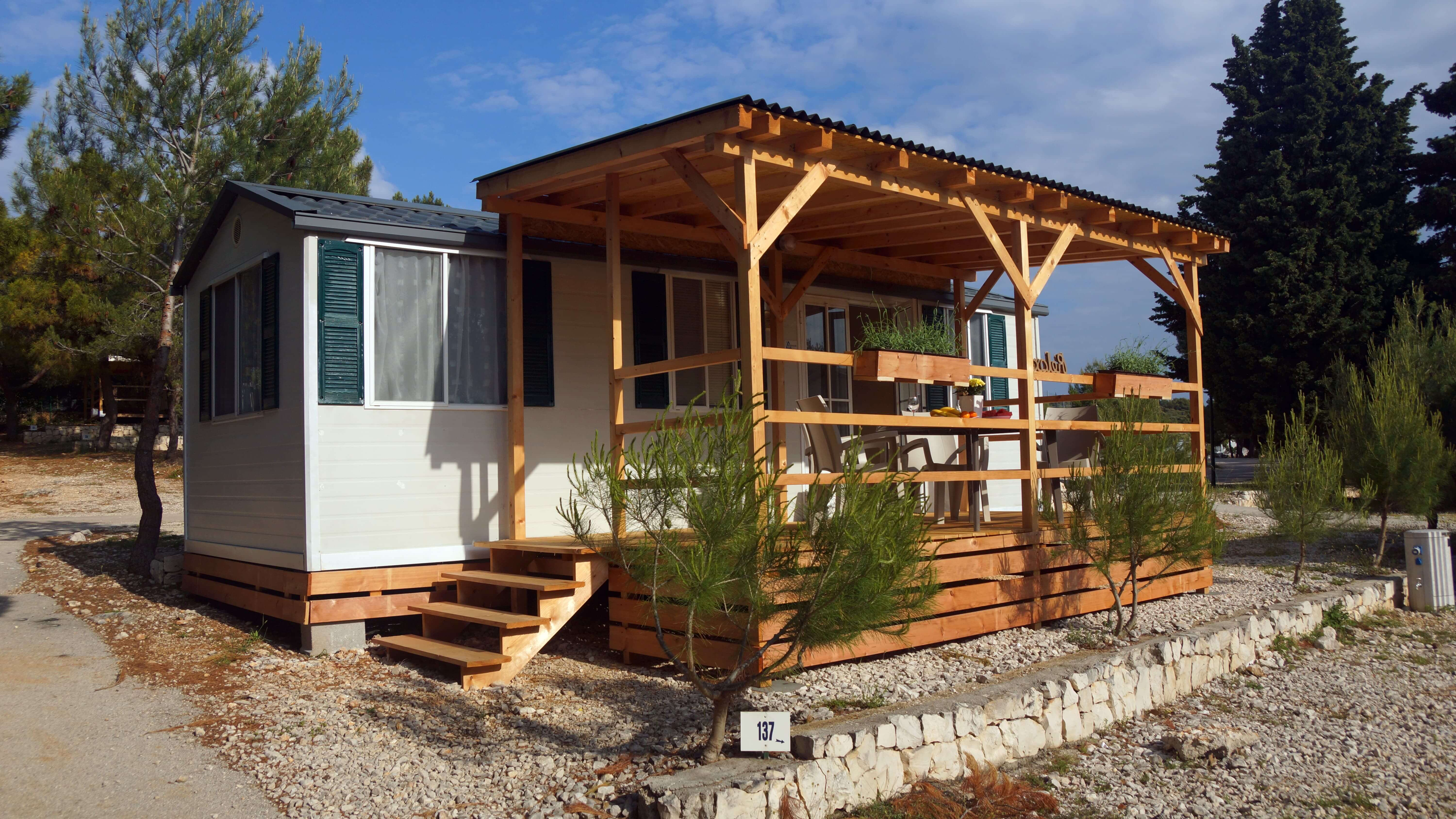 mobile home primosten camp adriatiq