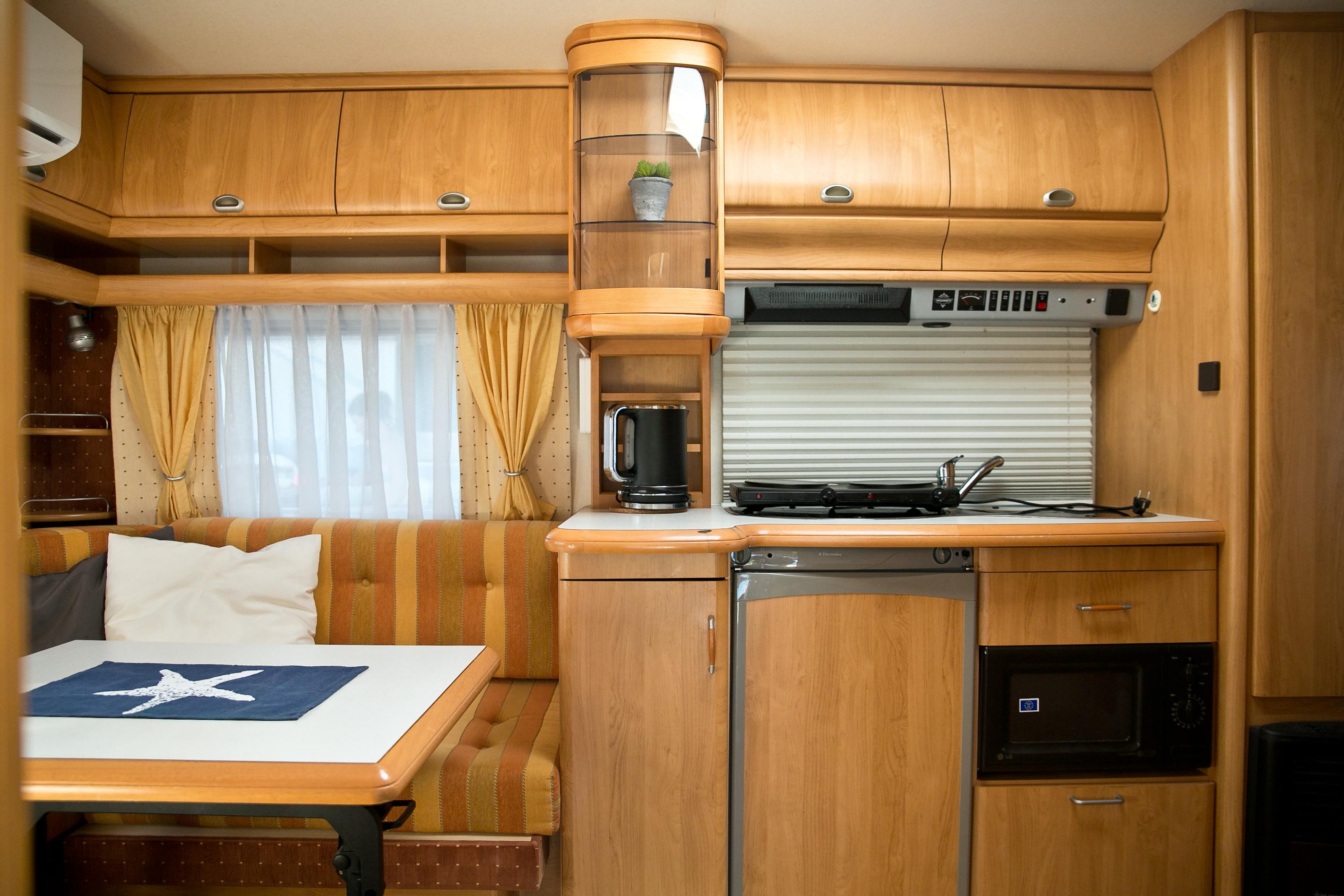 kitchen corner caravan Adriatiq Primošten