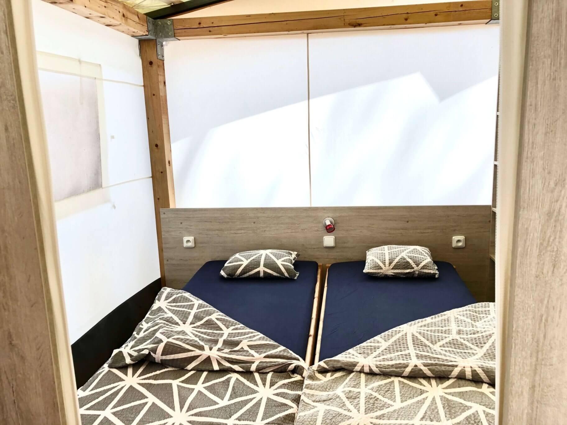 glamping tent in camp cikat at mali losinj